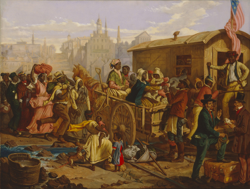 <em>After the Sale: Slaves Going South from Richmond</em>